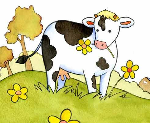 Bienvenue au pays des vaches centerblog - Vache dessin humour ...